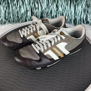 ❤️SOLD❤️ Men's Diesel leather sneakers